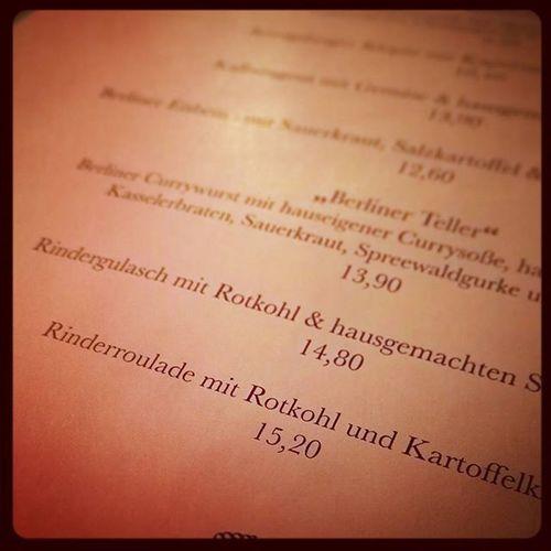Speisehaus Winterkarte Der Winter kann kommen! :-)