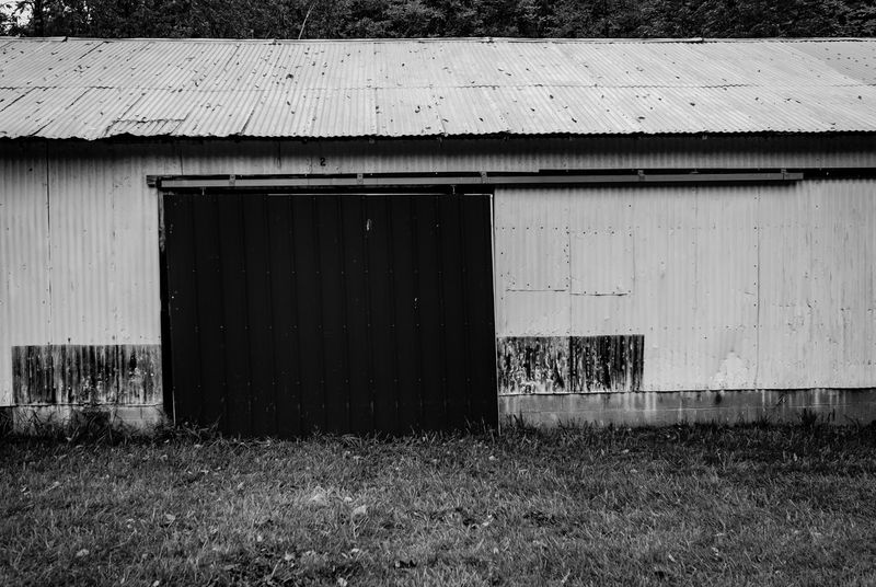 Old Mill  Architecture Blackandwhite Building Exterior Built Structure Day Door Grass Mill Monochrome No People Outdoors Shed