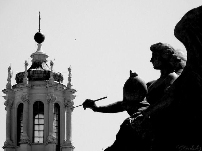 #photography #statue #church #OldPhoto #Rome #altaredellapatria #emotions #blackandwhite Architecture EyeEmNewHere Visual Creativity The Creative - 2018 EyeEm Awards