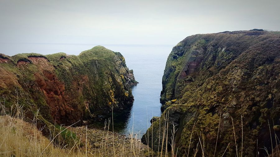 Bullers Of Buchan Cliffside Seaside Landscape_Collection