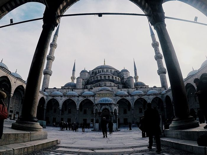 Istanbul Mosque Turkey Built Structure Architecture Travel Destinations Building Exterior Sky Gopro