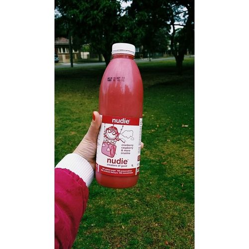nudie / cranberry raspberry & more crushie the healthier yolo // decided that trying something new is probs not too bad right? It's actually pretty yum ??? @kennardchua @goldandelions @kohkocrunch @nudiejuice Achievementunlocked Nudie Nudiejuice Firsts gymfeeds eatclean nomnomnom yuminmytum igsyd igdaily