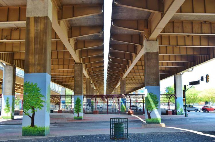 Dallas Architecture Deep Ellum Texas Bridges Street Art Symmetry The Street Photographer - 2016 EyeEm Awards The Architect - 2016 EyeEm Awards