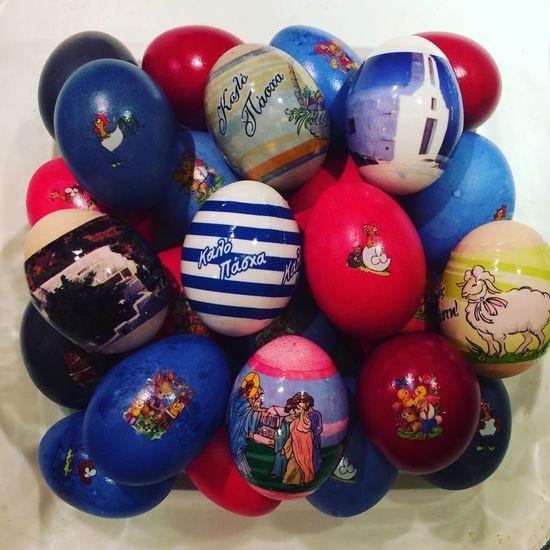 Greek Easter Cultures No People Indoors  Multi Colored Eggs Easter Greek Traditions Greekeaster Eastereggs EyeEm Diversity Art Is Everywhere