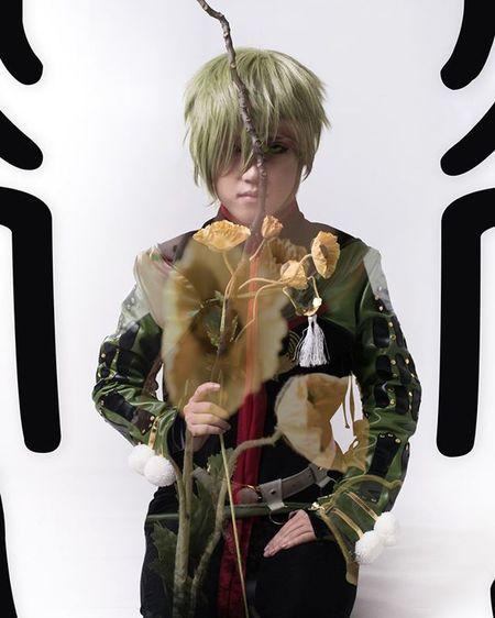 刀劍亂舞-鶯丸 CN: 透夜。Touya ( https://www.facebook.com/touya.cosplay ) Photo by George ( https://www.facebook.com/gg.photoplay ) 鶯丸 うぐいすまる 刀劍亂舞 刀剣乱舞 -ONLINE とうらぶ Anime Cosplay Cosplayer Manga Flower Nikon Nikond750 beautiful Art Photography Uguisumaru