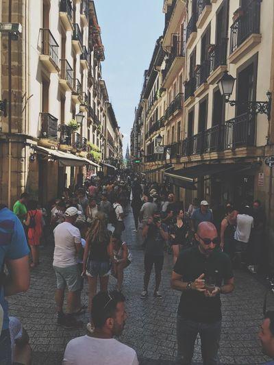 Building Exterior Street Real People Built Structure City Street City San Sebastian Tourism