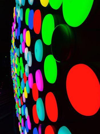 Neon Color Neon Neon Lights Neonlight Neon Colors Circular Circular Light