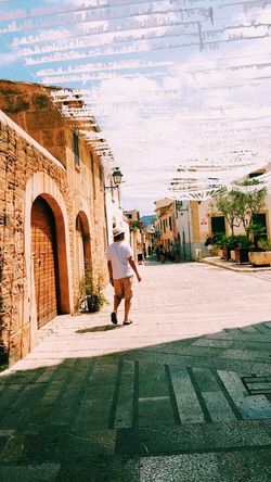 Pollença Full Length One Person Adults Only Outdoors People Adult Arch Women One Woman Only History Portrait Architecture Sky Day Traditional Clothing Lifestyles Mallorca Holiday Nature Love Long Goodbye Live For The Story