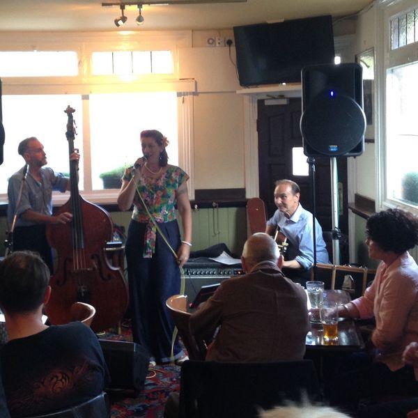 Silk Road jazz band at The Trafalagar pub Music Pubs Highpath Community