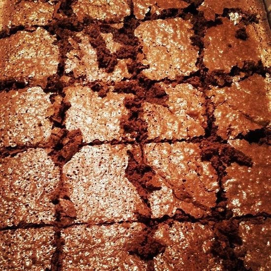 Homemade Chocolate Fudge Brownies!!! Flour Sugar Cocoapowder Milk chocolatechips melted eggs oil water bakingpowder vanilla extract relaxing bakingwithmylilsis thanksAri ilovesweets ilovechocolate getinmybelly imhungry alwaysleaveroomfordessert myfavoritemeal LASH