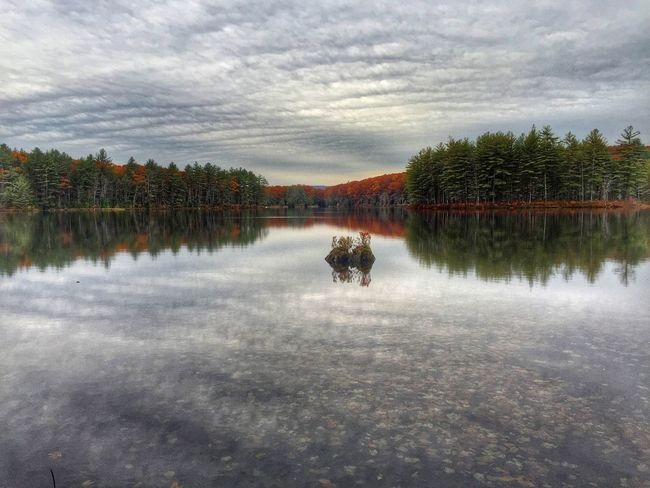 IPS2015Water Autumn Colors New England  New Hampshire Water Reflections Reflection Getoutdoors