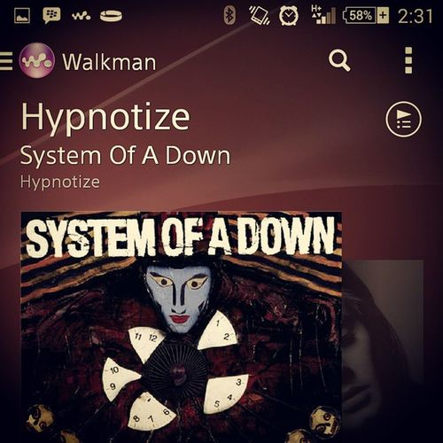 Nowplaying Systemofadown Hypnotize