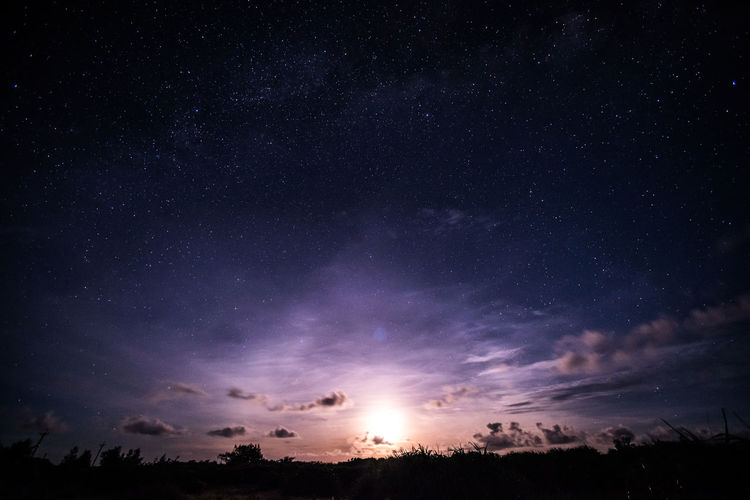 green island, Taiwan Astronomy Beauty In Nature Constellation Galaxy Gas Low Angle View Milky Way Nature Night No People Outdoors Scenics Sky Space Space And Astronomy Star - Space Star Field Tranquil Scene