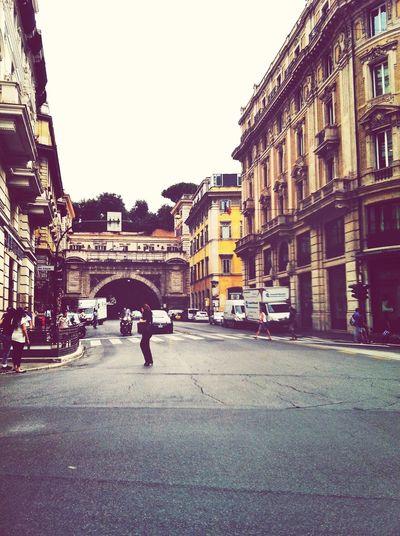 GetYourGuide Cityscapes Via del Tritone    Traforo __ Rome, Italy