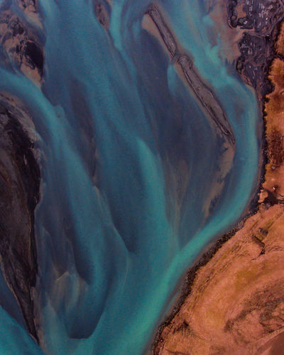 above the Iceland rivers. Drone  Iceland Iceland Memories Beauty In Nature Day Dronephotography Droneshot Geology Iceland Rivers Iceland Trip Iceland_collection Icelandriver Landscape Nature No People Outdoors Physical Geography Scenics Water