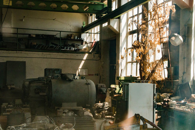 Reclamation Window Sunlight Shadow Indoors  No People Built Structure Day Architecture Close-up Abandoned Buildings Factories Abandoned