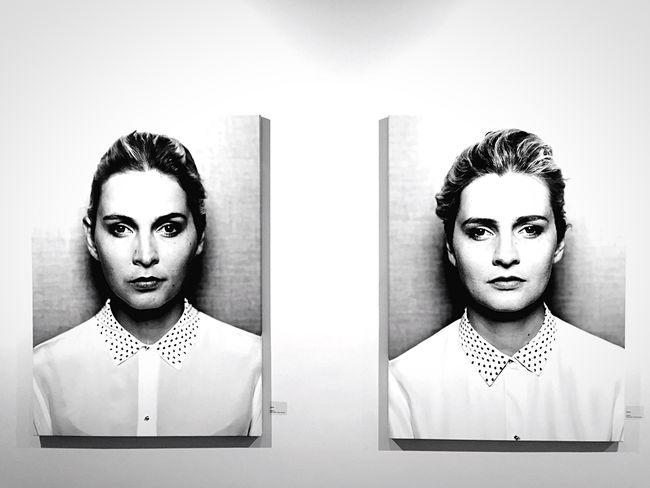 Heimat.Deutschland-Deine Gesichter. Open Edit Same Same But Different Woman Portrait Of A Woman Black And White Portrait White Face EyeZoom