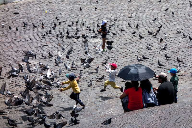 Kids in Quito