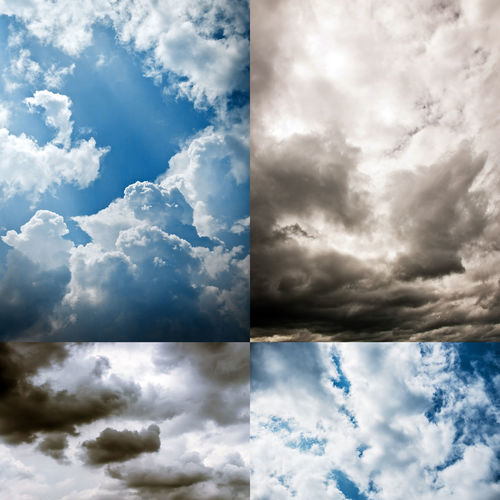 Beauty In Nature Blue Cloud - Sky Cloudscape Cumulus Cloud Day Dramatic Sky Environment Heaven Idyllic Nature No People Outdoors Scenics Sky Storm Cloud Tranquility Weather