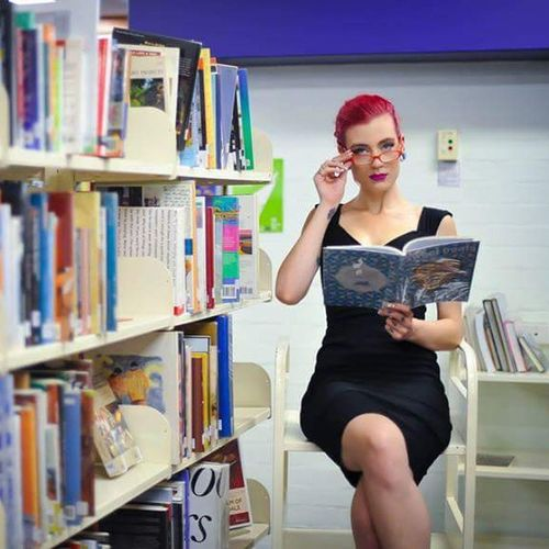 Houseofphoenixeleven Shoots @zaraleighinsanity @zaraleighinsanity @zaraleighinsanity Library Sexy Libtlrarian Shhhh Books Brains  Photobombingalibrarynearyou