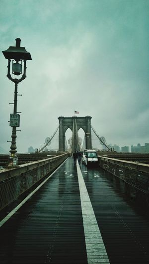 Brooklyn Bridge  Brooklyn Bridge / New York HTC Evening Sky Cloudy Day Rain Longrange Shot EyeEm Gallery EyeEm Places You Must To See Walkingway New York New York City Architecture Architecture_collection Amazingly Beautiful Neighborhood Map