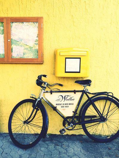 bike Yellow Bicycle