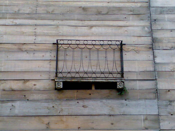 Entrapment Architecture Built Structure Day Metal Grate No People Outdoors Railing Terrace Wall Wood - Material EyeEmNewHere