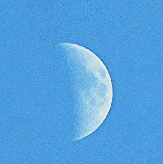 Daytime Moon Moon Shots Astrophotography Sky_collection Blueskies