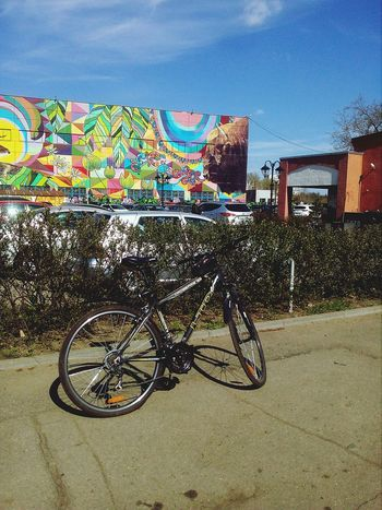 Bicycle Bicycle Rack Land Vehicle Stationary Sky Architecture Building Exterior Built Structure