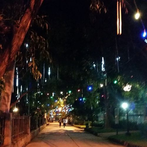 Running late at night
