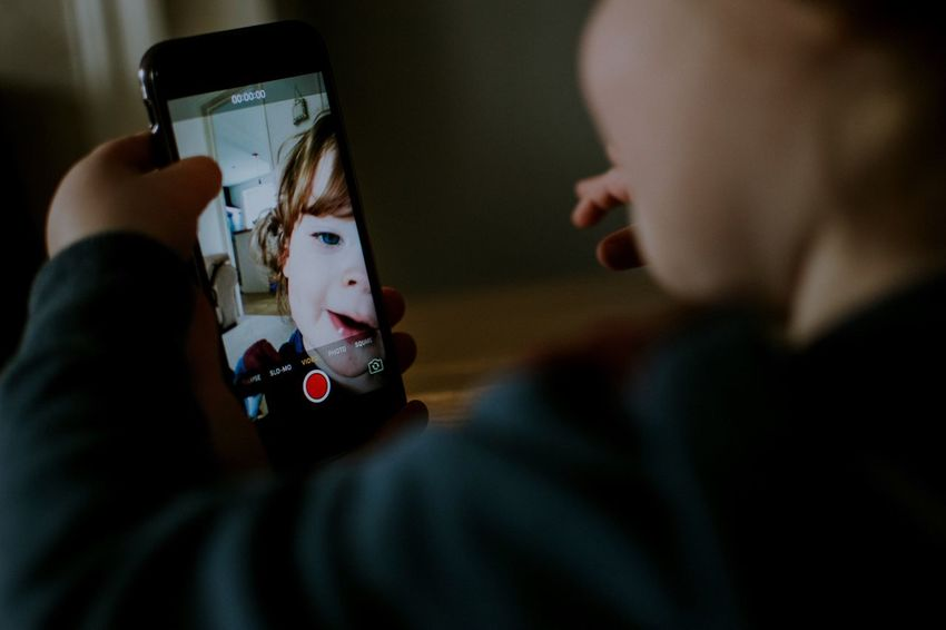 Lifestyle Photography Technology Childhood Toddler  Boys MyBoy Fun Child IPhone Selfie ✌