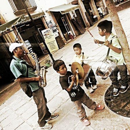 Banda Chiquilins Zacatecas Mexico Plaza liveentertainment talentedkids musicians surviving