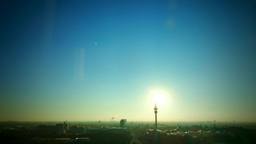 Working Sony Xperia Z3+ Office View Sunset Morning Sky Horizons Enjoying The View HBoB Officeview