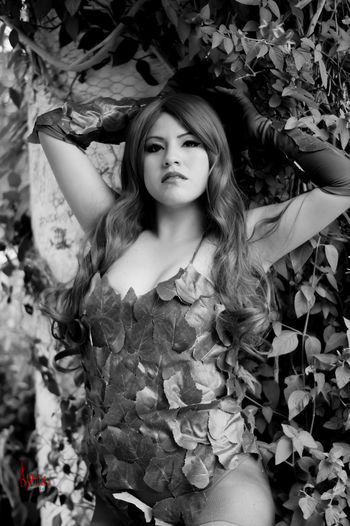 50mm F1.8 Beautiful Poison Cosplay Cosplay Shoot Cosplayer Day Nature Outdoors Park Plant Poison Ivy Portrait Portrait Of A Woman Session Sonya37