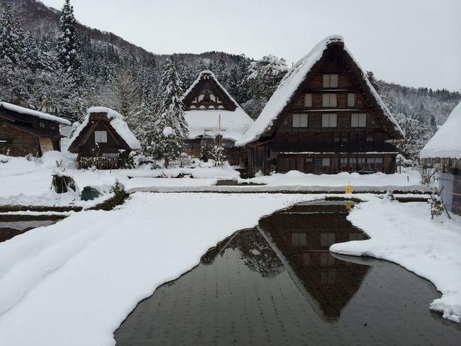 白川郷 雪 冬 岐阜 日本 飛騨 世界遺産 茅葺き 茅葺き屋根 Japan Gifu,Japan Gifu-ken Gihu-ken Gifu Hida HidaTakayama World Heritage Shirakawago Shirakawa-go Winter Winter Wonderland Snow Architecture Architecture_collection