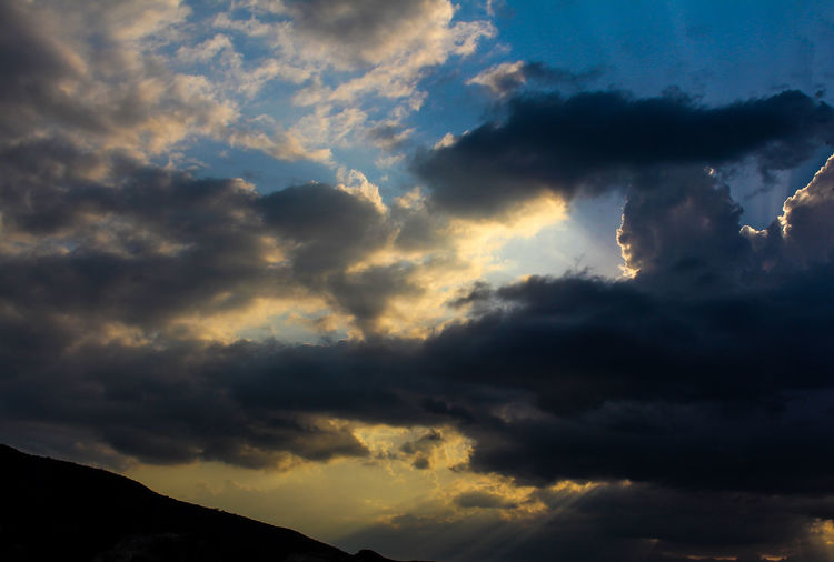 Atmospheric Mood Beauty In Nature Cloud - Sky Cloudscape Day Dramatic Sky Face On Clouds Georgia Low Angle View Nature No People Outdoors Scenics Silhouette Sky Sky Only Storm Cloud Summer Sunset Tranquil Scene Tranquility Weather
