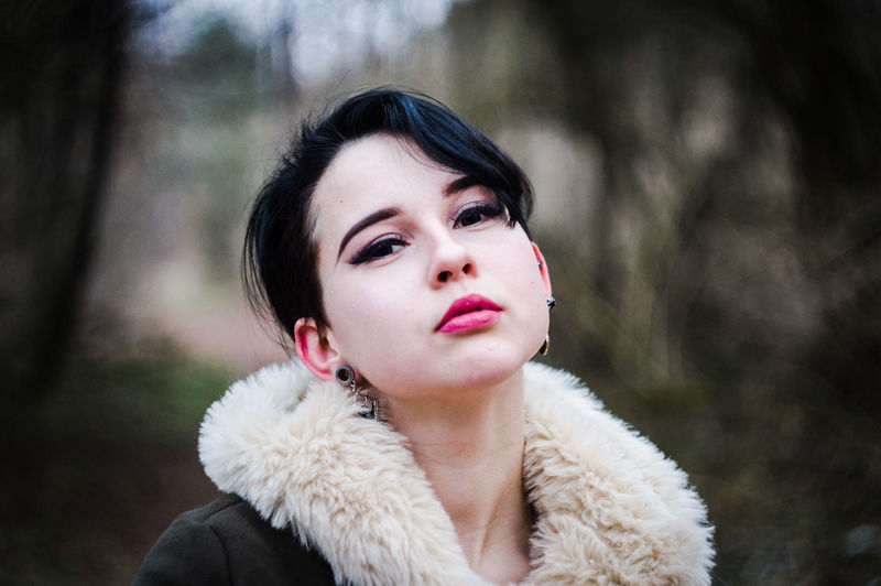 Posing Helios VSCO Vscocam Vscolithuania Nocrop Tumblr Bokeh Nature Naturephotography Colourful Nikon Nikonphotography EyeEm Selects Nikon D3200 Photoshoot Girl Model Modern Autoportrait Warm Clothing Young Women Beautiful Woman Beauty Portrait Fur Coat Beautiful People Headshot Fashion Females International Women's Day 2019