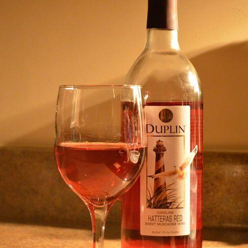 New favorite Wine Wineporn Winetasting Drinkresponsibly redwine duplin hatterasred winepleasure duplinwinery carolinapride