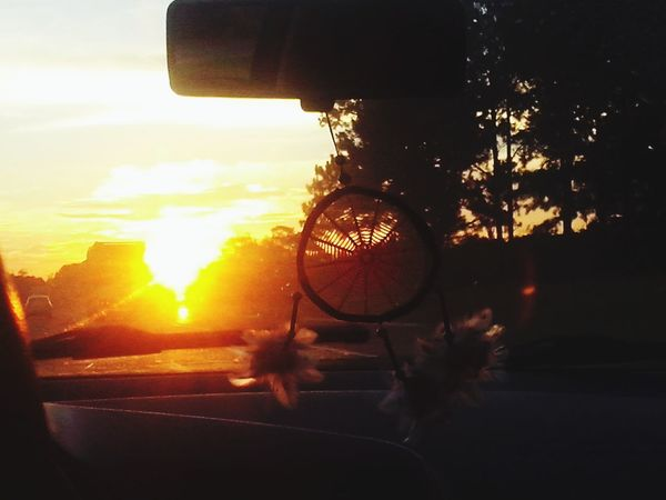 Dont worry, be happy ~* . Dawning Dream Catcher Car Trip With Friends
