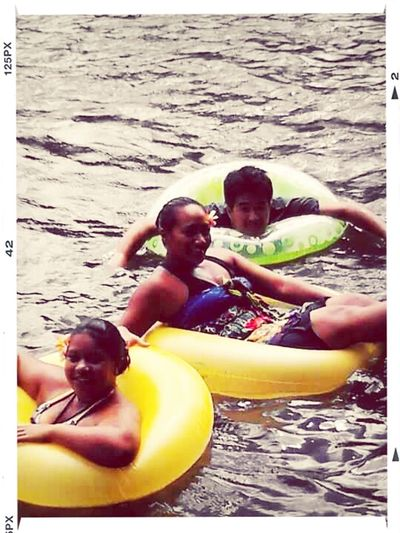 #TBT #friends #coolingOff #riverWater #floaTies #refreShing