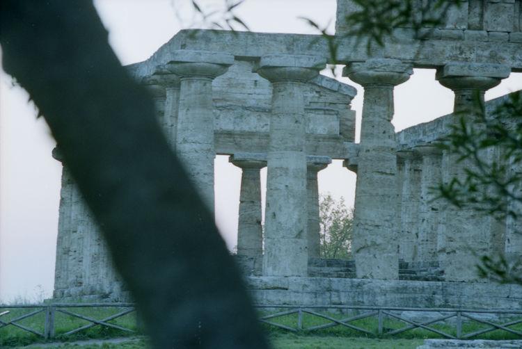 35mm Film Analogue Photography Architecture Film Magna Grecia Agropoli Arch Column Greece Temple