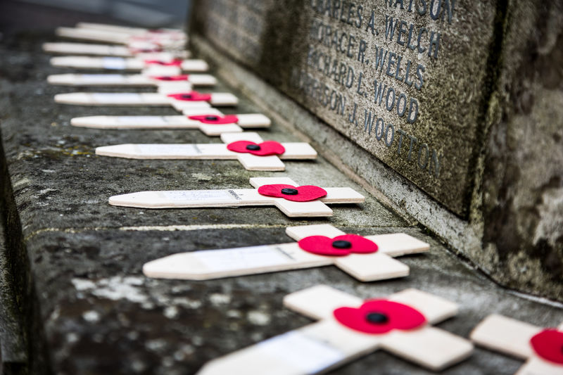 Remembrance Day 2017 Saffron Walden, Essex, England Cross EyeEmNewHere Memorial Remembrance Day World War I Poppy Wwi EyeEmNewHere