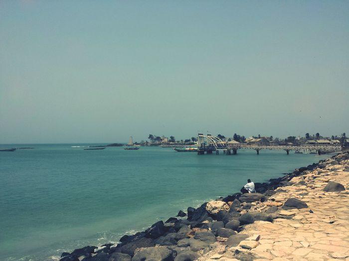 My HomeTown RUFISQUE Dakar Senegal Sunnyday Sea And Sky