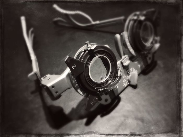 Frames Optics Black And White Health Eyeglasses  Optician Optical Trial Lens Adjustable Trial Frame
