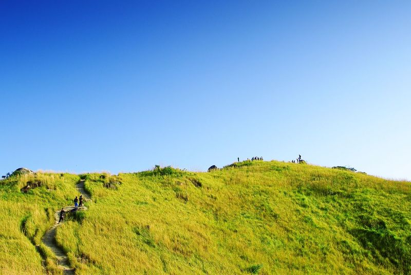 On Top of the World at Broga Hill Malaysia Green Sky Landscapes With WhiteWall The Great Outdoors - 2016 EyeEm Awards