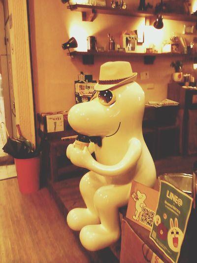 雨中咖啡 夏天到了呢~好棒的小帽帽 Relax Cama Caf'e 現烘咖啡專門店
