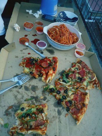 Pizza Photography Greenwich Spaggeti