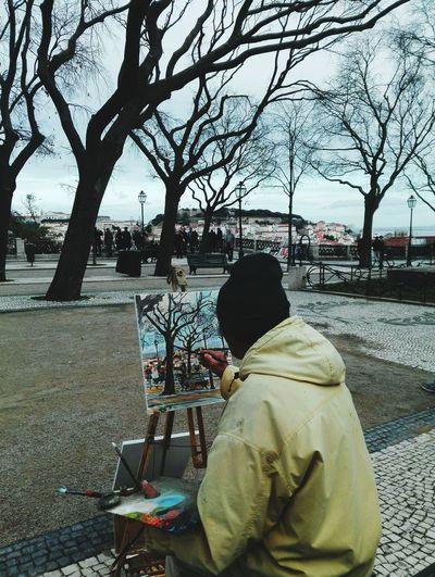 Artistas em Lisboa First Eyeem Photo