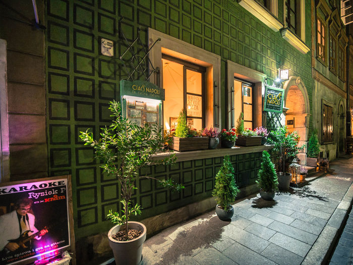 Green Color Poland Poland Is Beautiful Polska Warsaw Warsaw Old Town Warsaw Poland Warszawa  Architecture Building Building Exterior City Day Entrance Flower Flowering Plant Illuminated Nature No People Outdoors Poland 💗 Potted Plant Residential District Text Window