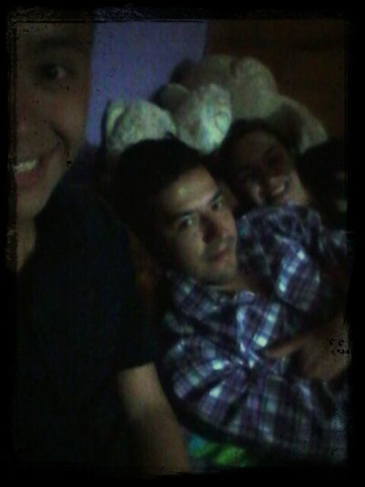 Noche con mi hermana & cuñado.